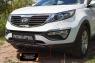 Тюнинг обвес переднего бампера Вариант 2 KIA Sportage 2014-2015