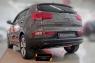 Тюнинг обвес заднего бампера Вариант 2 KIA Sportage 2014-2015