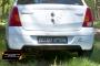 Диффузор на задний бампер Renault Logan 2004-2010