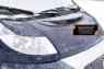 Воздухозаборник на капот (со скотчем 3М) Fiat Ducato 2006- (250/290 кузов)