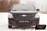 Зимняя заглушка решетки переднего бампера Chevrolet Cobalt (седан) 2013-