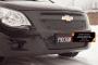 Зимняя заглушка решетки радиатора Chevrolet Cobalt (седан) 2013-
