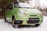 Зимняя заглушка решетки переднего бампера Daewoo Matiz 2000-