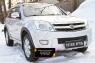 Зимняя заглушка решётки переднего бампера Great Wall Hover H2 2005-2010