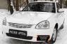 Зимняя заглушка решётки переднего бампера Lada (ВАЗ) Приора (хэтчбэк) 2014-