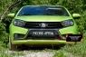 Защитная сетка и заглушка решетки переднего бампера Lada (ВАЗ) Vesta SW 2018-
