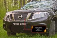 Зимняя заглушка решетки радиатора Nissan Terrano 2016-