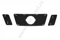 Зимняя заглушка решетки радиатора Nissan Pathfinder 2011-2013 (R51 рестайлинг)