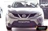 Защитная сетка и заглушка переднего бампера Nissan Qashqai 2014-2016