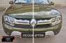 Зимняя заглушка решетки радиатора Renault Duster 2015- (I рестайлинг)
