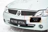 Зимняя заглушка решетки радиатора Renault Logan 2004-2010