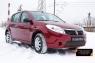 Защитная сетка и заглушка переднего бампера Renault Sandero 2009-2013