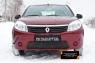 Зимняя заглушка решетки переднего бампера Renault Sandero 2009-2013