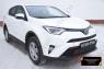 Защитная сетка и заглушка решетки переднего бампера Toyota Rav4 2015-