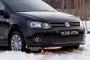 Зимняя заглушка решётки переднего бампера (Highline) Volkswagen Polo V 2009-2016