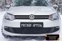 Зимняя заглушка решетки переднего бампера Volkswagen Polo V 2009-2016