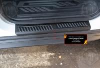 Накладки на внутренние пороги передних дверей Форд Транзит 2014-